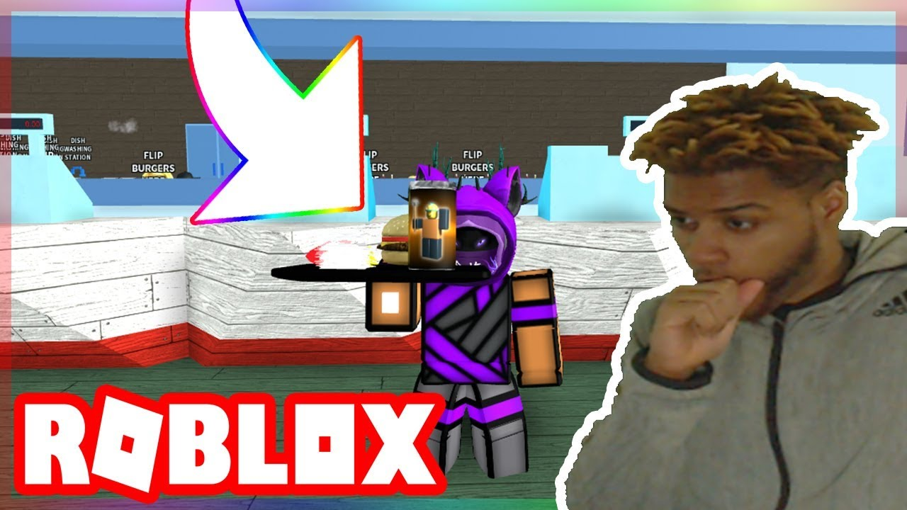 Welcome To The Krusty Krab | Fast Food Simulator in Roblox ...