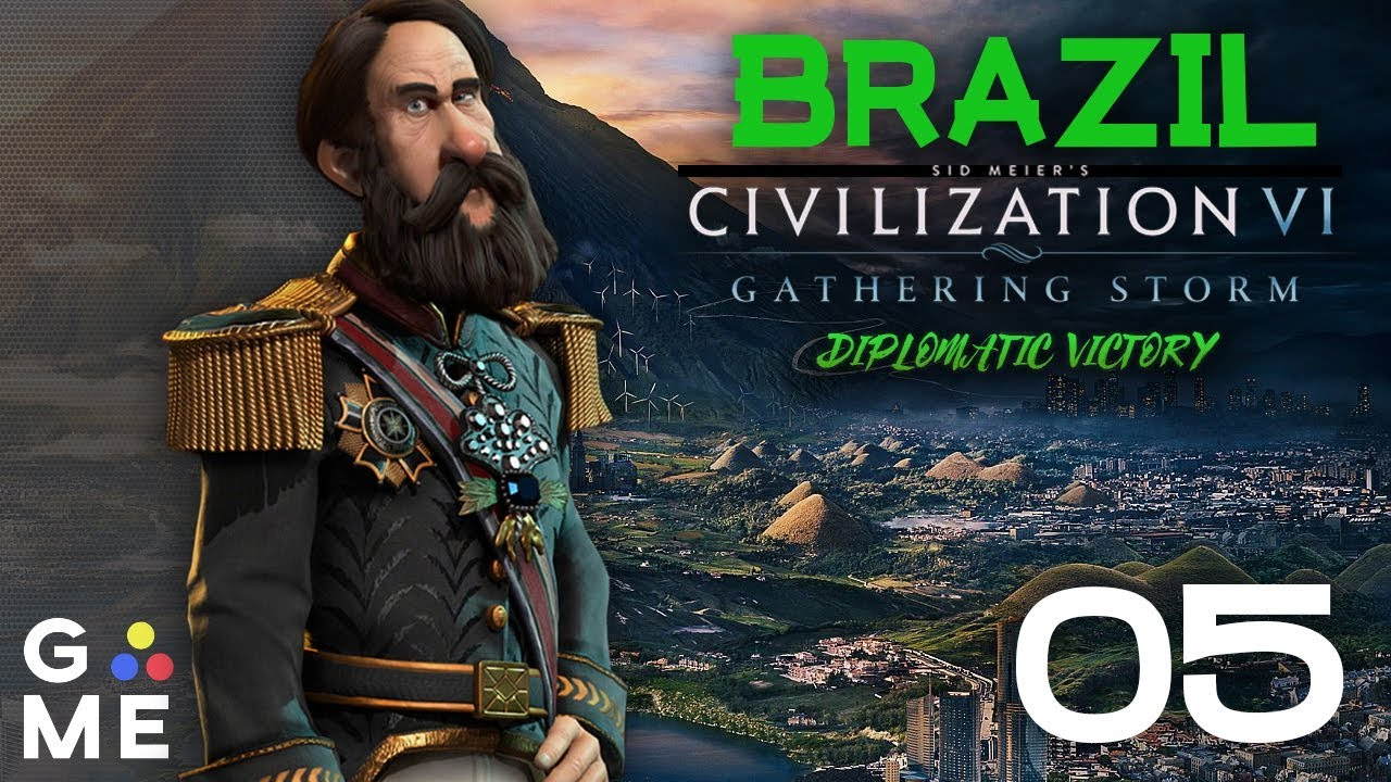 Deity Brazil - Seven Seas Map - June 2019 Update | Civ - Gathering Storm |  Episode 5 [Trying]