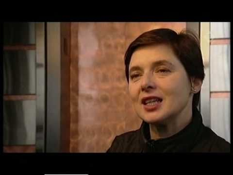 Isabella Rossellini talks about her parents and about the film Stromboli