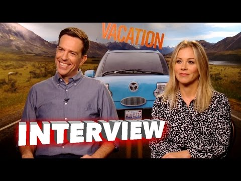 Vacation: Ed Helms & Christina Applegate Exclusive Interview