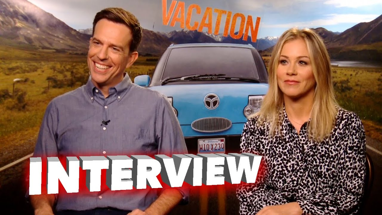 Vacation: Ed Helms & Christina Applegate Exclusive ...
