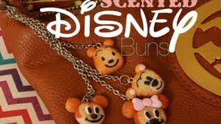 Scented Disney Squishy Buns - Polymer Clay Tutorial Thumbnail