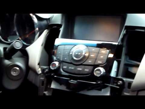 Chevrolet Cruze штатная мультимедийная магнитола