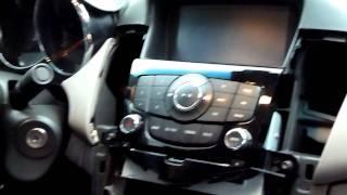 Chevrolet Cruze мультимедійна штатна магнітола