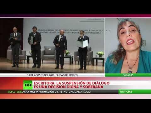 """""""Suspensión del diálogo entre el Gobierno de Venezuela y oposición es una decisión digna y soberana"""""""