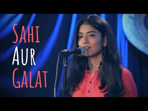 """Sahi Aur Galat"" - Sainee Raj ft. Tig3rbabu | UnErase Poetry"