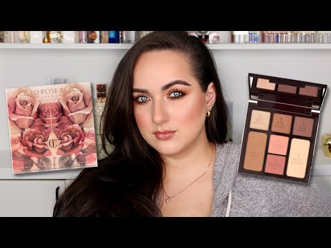 Stoned Rose Beauty Instant Look In A Palette From Charlotte Tilbury Review! | Patty