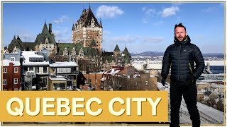Quebec city in winter (Canada) : tourist guide in english - guide tour of Quebec City 🇨🇦