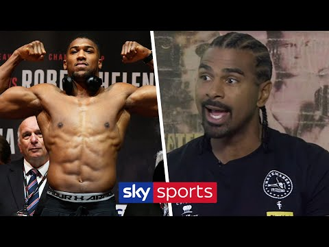 Who should Anthony Joshua face instead of Jarrell 'Big Baby' Miller on June 1? | David Haye | T2T