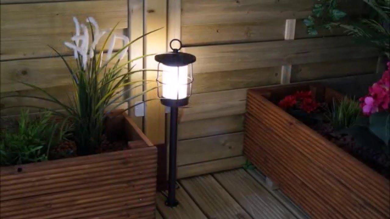 Techmar Locos 12v Plug Play Garden Post Light