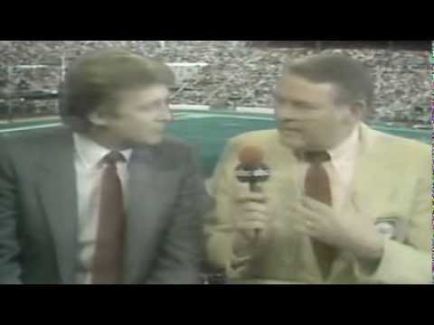 USFL Report 1984 -  Interview with Donald Trump & Marvin Warner