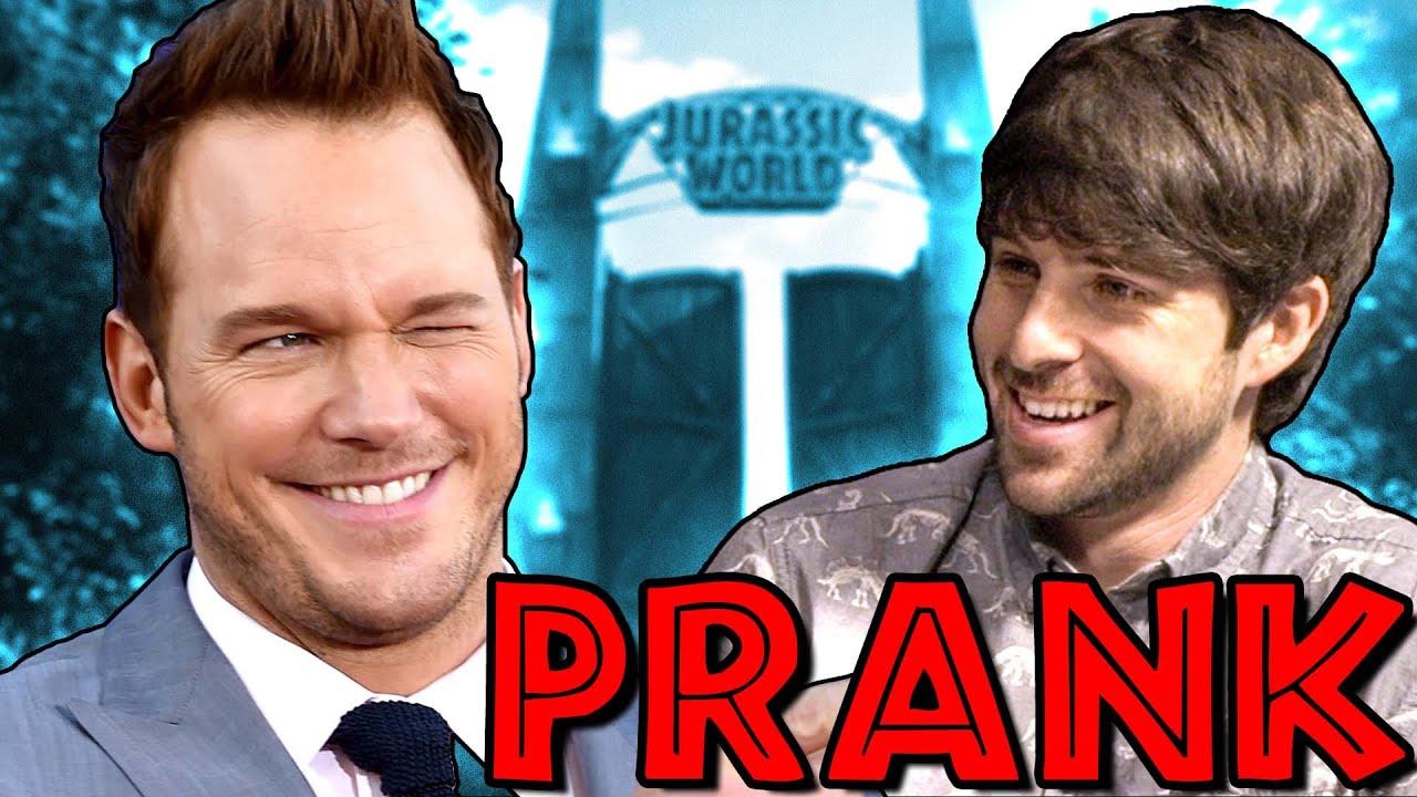 CHRIS PRATT INTERVIEW PRANK - YouTube