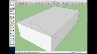 Sketchup- How To Make A Hip Roof