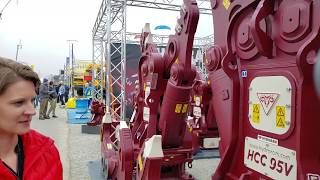 Video still for HydraRam Booth at bauma 2019