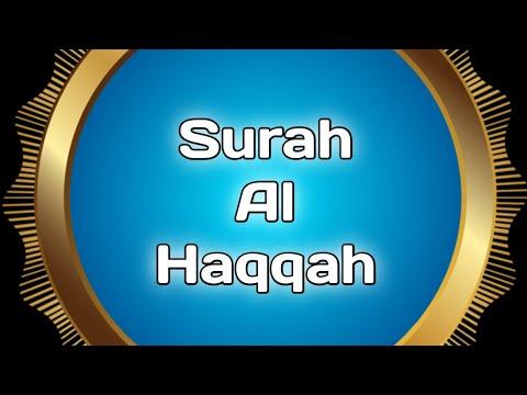 Surah Al Haqqah | Al-Haqqa Surasi o'zbekcha Tarjimasi, O'qilishi Ustadz Hanan Attaki