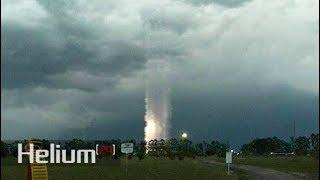 Un extraño fenómeno ha sido detectado en Argentina durante una tormenta
