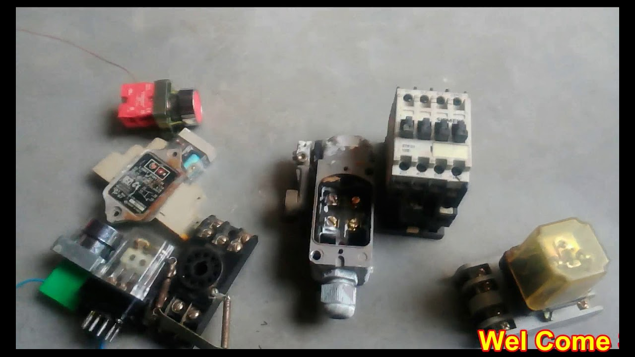 How To Limit Switch With Relay Wiring Diagram   Limit