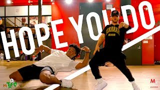 chris brown hope you do choreography by karon lynn