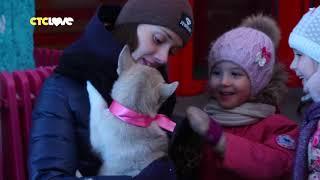 СТС Love подарил девочке щенка!