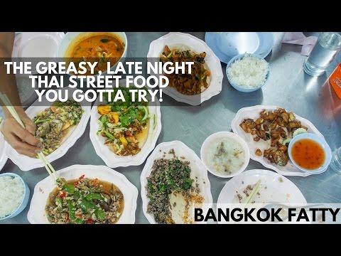 Bangkok Dinner Vlog: You've Gotta Try Thailand's Greasy, Late Night Street Food Restaurants!