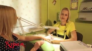 як зробити плавний перехід кольору на нігтях лаком