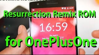 Resurrection Remix ROM for OnePlus One - Better Alternative to Oxygen OS!