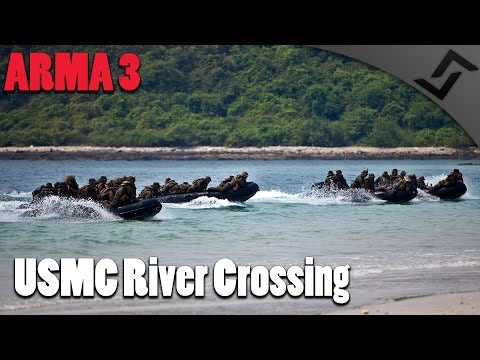 ARMA 3 - USMC River Crossing
