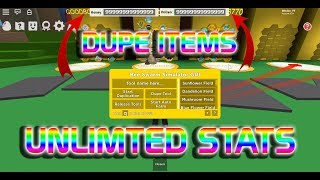BEE SWARM SIMULATOR ROBLOX HACK / SCRIPT | UNLIMTED STATS | DUPE ITEMS | GET ALL ROYAL JELLY!!