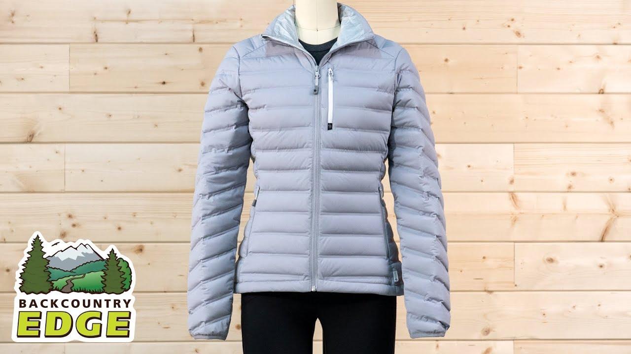 dcb4f5d9e4c Mountain Hardwear Women's StretchDown Jacket - YouTube