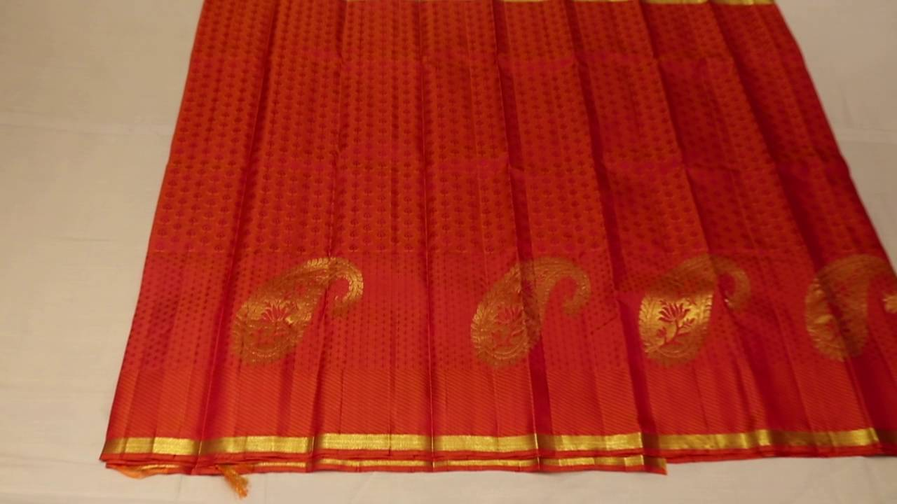 Pink And Fanta Orange Double Shade Colour Wedding Saree 3c8a9499 You