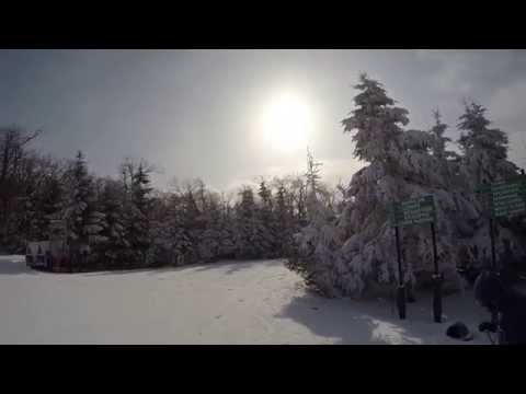 Elk Mountain Skiing - Mahican Coldest Day - February 15th 2015