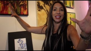 Art Show In Modesto, California - Yvette La Force - The Peer Recovery Art Project