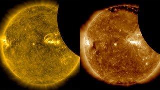 Solar Eclipse 2017 seen by Solar Dynamics Observatory (SDO), 21 August 2017