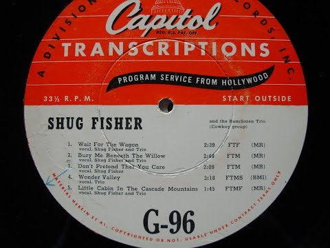 Shug Fisher #2  w Joaquin Murphey Steel Guitar & Merle Travis/Wesley Tuttle
