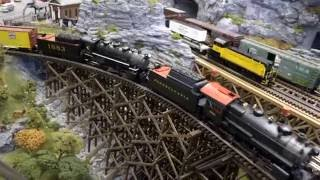 o scale train layout mth premier red lion train station august 2016 open house