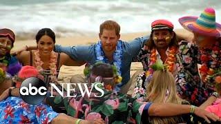 Prince Harry, Meghan Markle visit Bondi Beach for mental health awareness