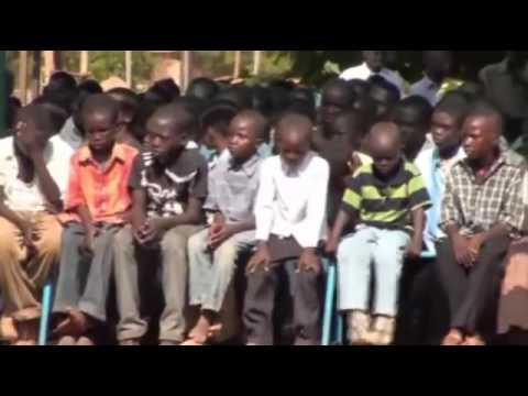 South Sudan Sunday praise in Wau western Bar el ghal