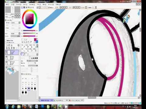 Painting Rainbow Dash - My Little Pony FIM - YouTube