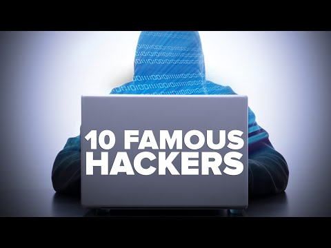 10 MOST FAMOUS HACKERS