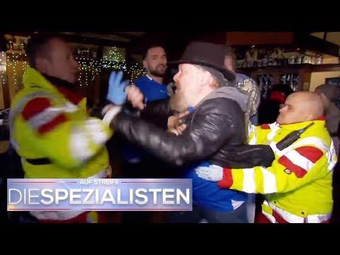 Notsituation in Kneipe: Hooligan geht auf Sanitter los! | Oliver Dreier | Die Spezialisten | SAT.1