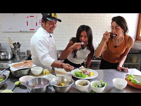 How To Make Ceviche, Taught By A Real Peruvian Chef
