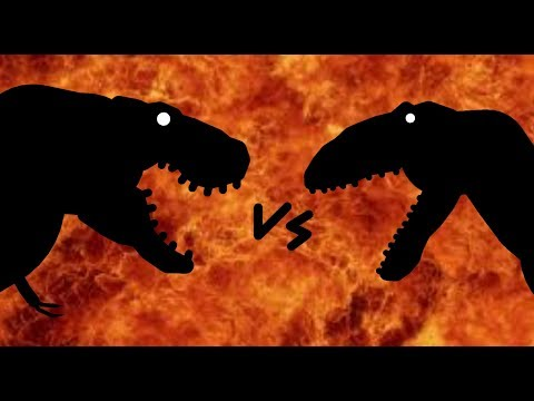 MM Mapusaurus vs Tyrannosaurus Rex