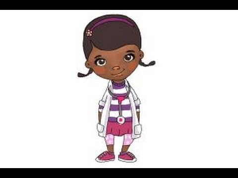 It's just a graphic of Canny Doc Mcstuffins Drawing