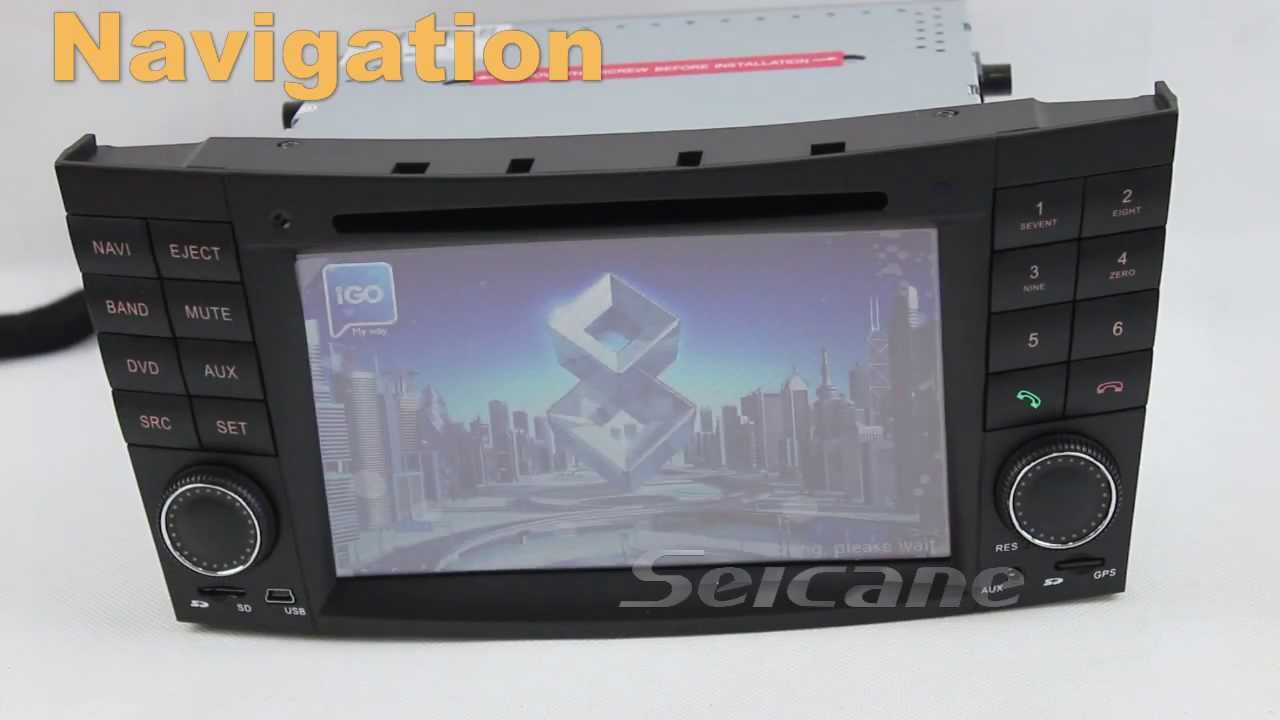 mercedes e w211 comand aps ntg1 upgrade replacement for rearview camera bluetooth rds 1080p dvd. Black Bedroom Furniture Sets. Home Design Ideas