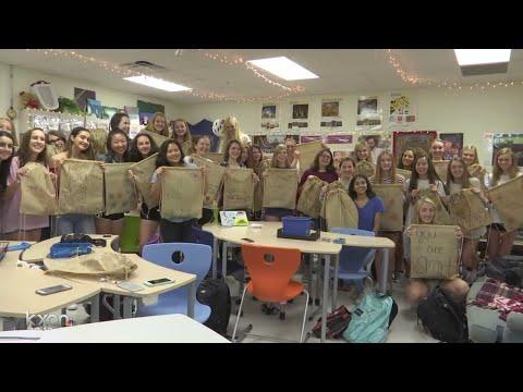 Westlake High School students empowering girls in Rwanda