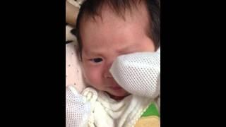 赤ちゃん 怒る 生後1カ月 キレてますか(๑•̀ ₃ •́๑)‼?りゅうちゃん♡