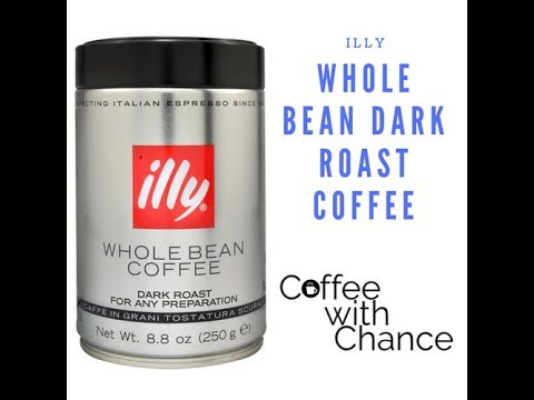 Coffee With Chance Illy Whole Bean Dark Roast Review Youtube