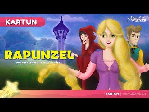 Rapunzel Cerita Untuk Anak Anak - Animasi Kartun - Stories for Children in Indonesian