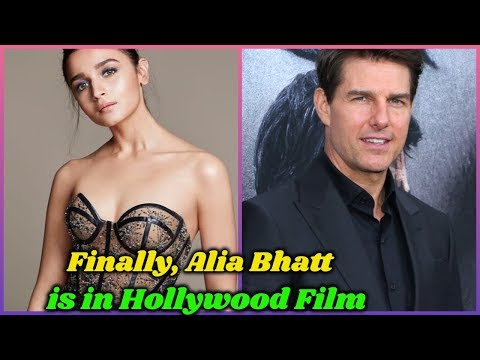 Finally Alia Bhatt is in Her First Hollywood Film  Good News