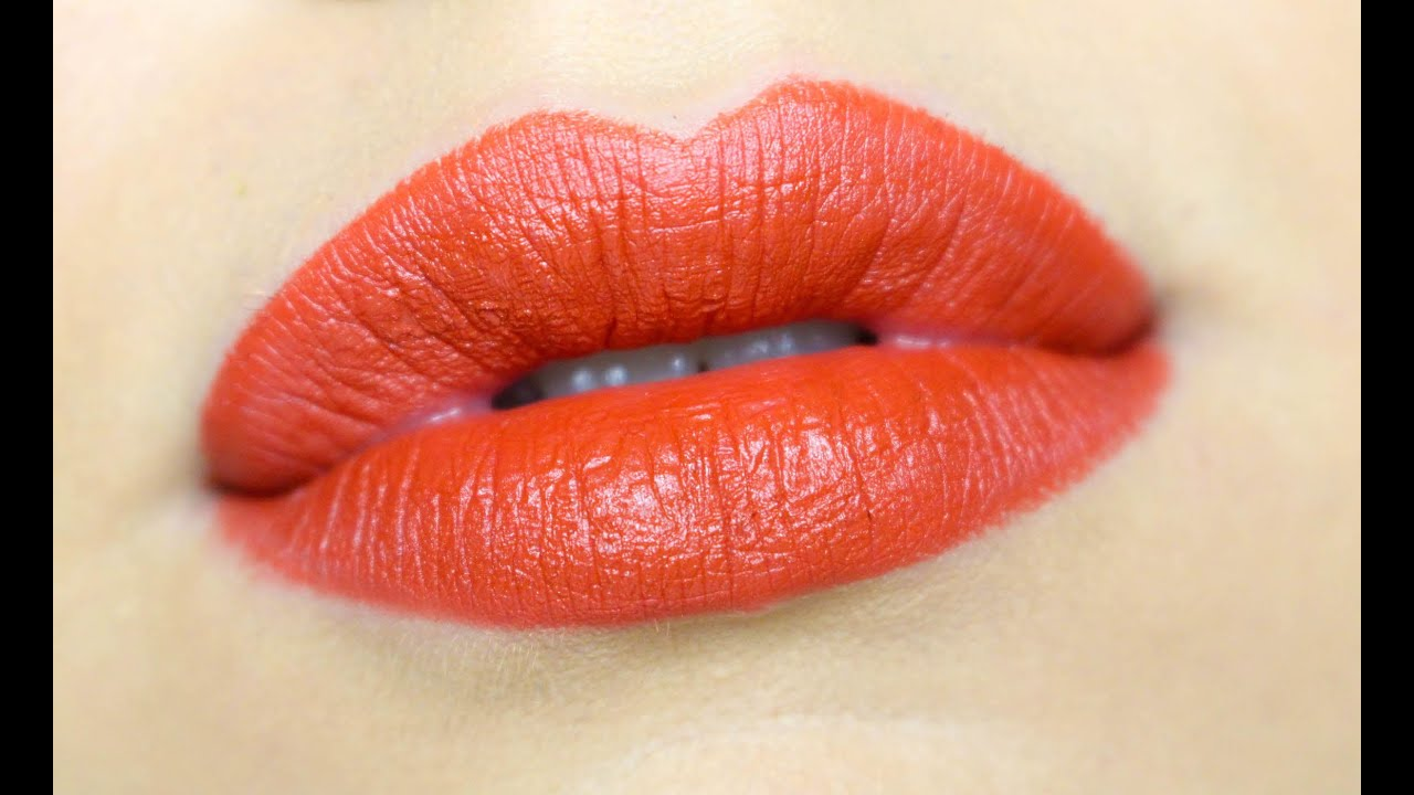 spesso MAC CHILI LIPSTICK | gkhairmakeup - YouTube BD91